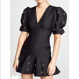 Keepsake the label black starlight mini dress